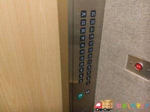 タワーマンションのエレベーター