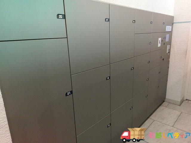 タワーマンションの宅配ボックス