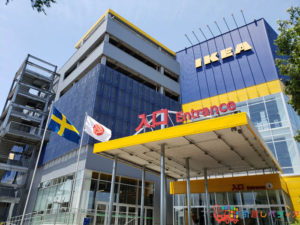 IKEA立川の外観写真