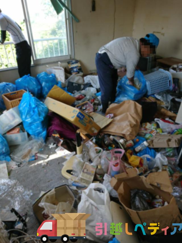ゴミ屋敷の引越し