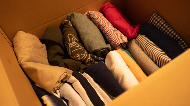 衣類の引越し、梱包方法のコツ